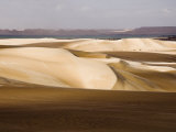 Sand Dunes, the Great Sand Sea, Western Desert, Egypt, North Africa, Africa Photographic Print by Schlenker Jochen