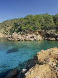 Clear Turquoise Waters of Cala Xucla, Near Portinatx, Ibiza, Balearic Islands, Spain, Mediterranean Photographic Print by Tomlinson Ruth