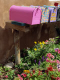 Mail Boxes, Santa Fe, New Mexico, United States of America, North America Photographic Print by Westwater Nedra