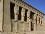 Temple of Hathor, Dendera, Egypt, North Africa, Africa Photographic Print by Scholey Peter