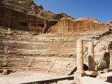 Roman Amphitheatre, Petra, UNESCO World Heritage Site, Jordan, Middle East Photographic Print by Tondini Nico