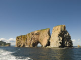 Perce Rock, Gaspe Peninsula, Province of Quebec, Canada, North America Photographic Print by Snell Michael