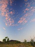 Sunset Along the Spring Creek Track, Kimberley, Western Australia, Australia, Pacific Photographic Print by Schlenker Jochen