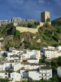 Castillo De La Yedra Above the Whitewashed Village of Cazorla, Jaen, Andalucia, Spain Photographic Print by Tomlinson Ruth