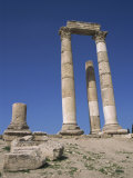 Temple of Hercules, the Citadel, Amman, Jordan, Middle East Photographic Print by Short Michael