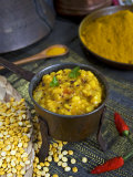 Indian Food, Pan of Dhal, India Photographic Print by Tondini Nico
