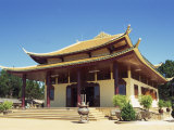 Exterior of the Thien Vien Truc Lam Buddhist Temple at Dalat, Vietnam, Indochina, Southeast Asia Photographic Print by Wright Alison
