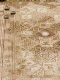 Mosaics, Jerash, Jordan, Middle East Photographic Print by Richardson Rolf