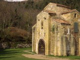 Royal Chapel of Summer Palace of Ramiro I, at San Miguel De Lillo, Oviedo, Asturias, Spain Photographic Print by Westwater Nedra