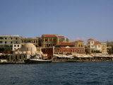 Venetian Harbour, Chania, Crete, Greek Islands, Greece, Europe Photographic Print by Richardson Rolf