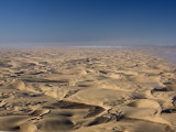 Aerial Photo of Sand Dunes, Skeleton Coast Park, Namibia, Africa Photographic Print by Milse Thorsten
