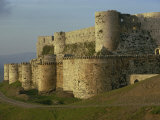 Krak Des Chevaliers, UNESCO World Heritage Site, Syria, Middle East Photographic Print by Woolfitt Adam