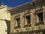 16th Century Plateresque Facade of the Casa Del Populo, Baeza, Jaen, Andalucia, Spain Photographic Print by Tomlinson Ruth