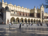 Cloth Hall, Market Square, Old Town, UNESCO World Heritage Site, Krakow, Poland Photographic Print by Jane Sweeney