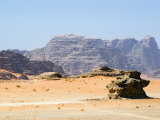 Wadi Rum, Jordan, Middle East Photographic Print by Tondini Nico