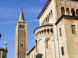 Duomo's Exterior, Parma, Emilia Romagna, Italy, Europe Photographic Print by Tondini Nico