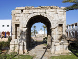 Arch of Marcus Aurelius, Tripoli, Libya Photographic Print by Rennie Christopher