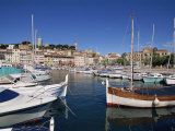 Le Suquet and Harbour, Old Town, Cannes, Alpes Maritimes, Provence, Cote D'Azur, France Photographic Print by Thouvenin Guy