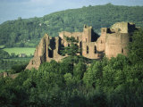 Goodrich Castle, Herefordshire, England, United Kingdom, Europe Photographic Print by Woolfitt Adam