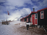 Port Lockroy Hut, British Station Built in 1944, Antarctic Peninsula, Antarctica, Polar Regions Photographic Print by Renner Geoff