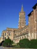 Church of St. Sernin in the Town of Toulouse, in the Midi Pyrenees, France, Europe Photographic Print by Rawlings Walter