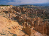 Pinnacles and Rock Formations Caused by Erosion, Bryce Canyon National Park, Utah, USA Photographic Print by Tomlinson Ruth