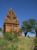 Cham Tower, Klong Garai, Phan Rang, Vietnam, Indochina, Southeast Asia Photographic Print by Richardson Rolf