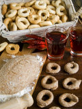 Tarallucci or Taralli, Bread from Puglia, Italy, Europe Photographic Print by Tondini Nico