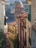 Moure Place, Old Town, Collioure, Roussillon, Cote Vermeille, France, Europe Photographic Print by Thouvenin Guy
