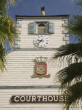 Courthouse, Philipsburg, Dutch St. Maarten, West Indies, Caribbean, Central America Photographic Print by Richardson Rolf
