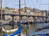 Waterfont, Porto Antico, Genova, Liguria, Italy, Europe Photographic Print by Tondini Nico