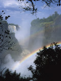 Victoria Falls, UNESCO World Heritage Site, Zimbabwe, Africa Photographic Print by Renner Geoff
