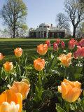 Thomas Jefferson's Monticello, UNESCO World Heritage Site, Virginia, USA Photographic Print by Snell Michael