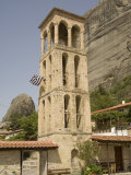 Byzantine Church Tower, Kalambaka, Meteora, Thessaly, Greece, Europe Photographic Print by Richardson Rolf