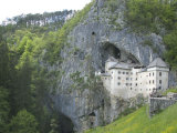 Predjama Castle, Built in Mouth of Cave, Near Postojna, Slovenia, Europe Photographic Print by Waltham Tony
