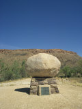 Gravestone of John Flynn, Founder of the Flying Doctor Service, Near Alice Springs, Australia Photographic Print by Wilson Ken