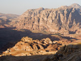 View of Wadi Sha'Ab Qais, Petra, Jordan, Middle East Photographic Print by Schlenker Jochen