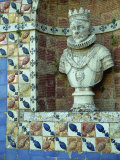 Bust of King Sebastian, Frontera Palace, Lisbon, Portugal Photographic Print by Westwater Nedra