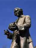 Statue of Josiah Wedgwood, Stoke on Trent, Staffordshire, England, United Kingdom Photographic Print by Rawlings Walter