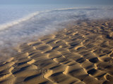 Aerial of Sand Dunes, Skeleton Coast Park, Namib Desert, Namibia, Africa Photographic Print by Milse Thorsten