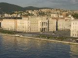 Town Hall Fronting on Piazza Unita D'Italia, Trieste, Friuli-Venezia Giulia, Italy Photographic Print by Waltham Tony