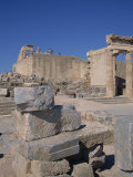 Acropolis of Lindos, Rhodes, Dodecanese, Greek Islands, Greece Photographic Print by Teegan Tom