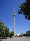T.V. Tower, Berlin, Germany, Europe Photographic Print by Scholey Peter
