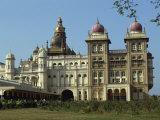 Maharaja's Palace, Mysore, Karnataka State, India Photographic Print by Taylor Liba