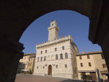 Palazzo Comunale, Montepulciano, Val D'Orcia, Siena Province, Tuscany, Italy, Europe Photographic Print by Pitamitz Sergio