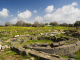 Baths, Umm Qais Roman City, Umm Qais, Jordan, Middle East Photographic Print by Schlenker Jochen