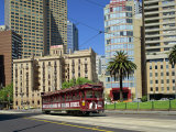 Tram on Macarthur Street in Melbourne, Victoria, Australia, Pacific Photographic Print by Scholey Peter