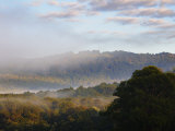 Morning Fog over the Silvan Reservoir, Dandenong Ranges, Victoria, Australia, Pacific Photographic Print by Schlenker Jochen