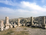 Citadel, Amman, Jordan, Middle East Photographic Print by Tondini Nico