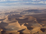 Aerial View, Sossusvlei, Namib Naukluft Park, Namib Desert, Namibia, Africa Photographic Print by Milse Thorsten